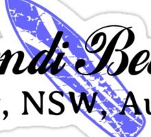 Surf Bondi Sticker