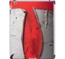 A CLOSER NY - ORANGE CONE iPad Case/Skin