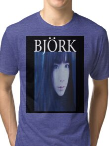 BLUE BJORK SHIRT Tri-blend T-Shirt