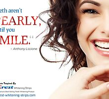 A Quotographic by Crest Whitening Strips by Infographics