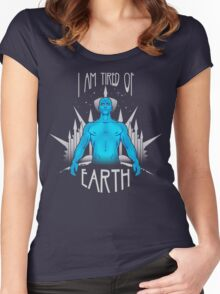 Tired of Earth Women's Fitted Scoop T-Shirt