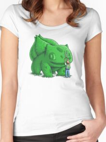 Plant type monster Women's Fitted Scoop T-Shirt