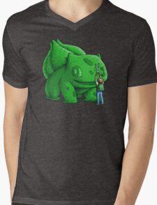 Plant type monster Mens V-Neck T-Shirt