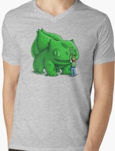 Plant type monster Mens V-Neck T-Shirt