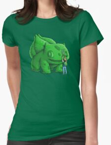 Plant type monster Womens Fitted T-Shirt