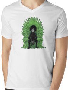 Scissors throne Mens V-Neck T-Shirt
