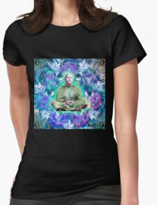 Parallel Paradise Womens Fitted T-Shirt
