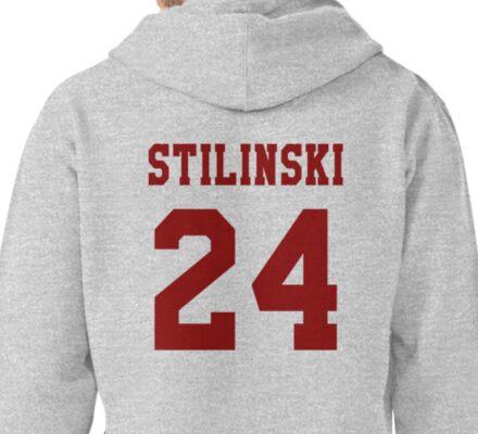 Stilinski 24, Stiles stilinski - maroon Pullover Hoodie