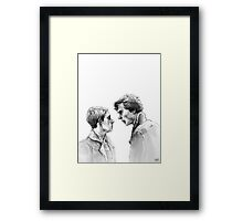 I don't have friends Framed Print