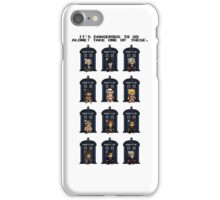 8-bit Doctor Who iPhone Case/Skin