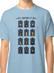 8-bit Doctor Who Classic T-Shirt