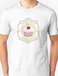 A cupcake with frosting Unisex T-Shirt