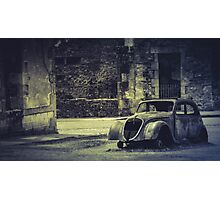 Old car V2 Photographic Print