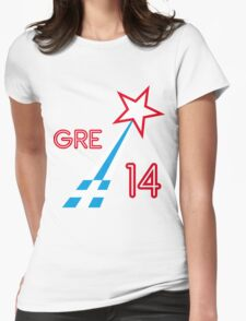 GREECE STAR Womens Fitted T-Shirt