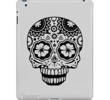 A laughing Sugar Skull  iPad Case/Skin