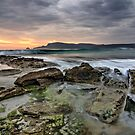 Adventure Bay rocks and waves (HDR) - Bruny Island, Tasmania by PC1134