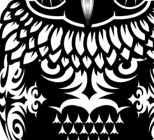 A dark owl  Sticker