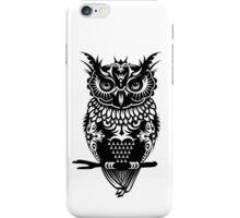 A dark owl  iPhone Case/Skin