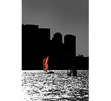 Sailor on the harbour Photographic Print