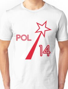 POLAND STAR Unisex T-Shirt