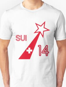 SWITZERLAND STAR  Unisex T-Shirt