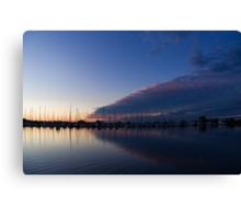 Peaceful Yachts and Sailboats Canvas Print