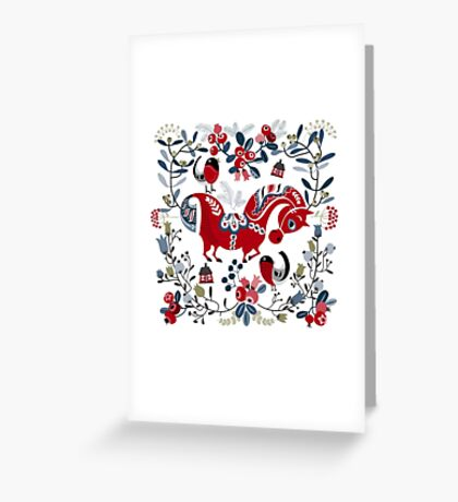 Dala horse  Greeting Card