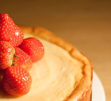 Strawberry cheesecake by Paul Smith