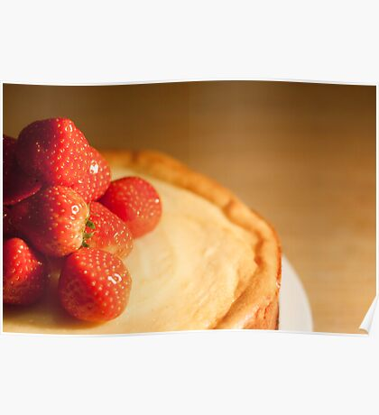 Strawberry cheesecake Poster