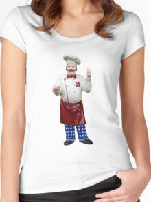 Plastic chef Women's Fitted Scoop T-Shirt