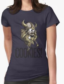 Cookies! - Viking Womens Fitted T-Shirt