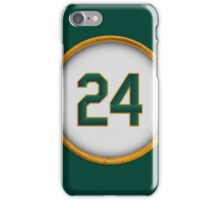 24 - Man of Steal iPhone Case/Skin