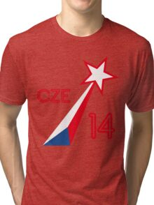 CZECH STAR  Tri-blend T-Shirt