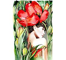 """The Tulip""  Photographic Print"