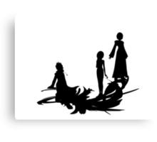 KH Descended of Sora Canvas Print