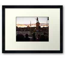 ANZAC Memorial Framed Print