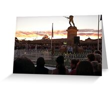 ANZAC Memorial Greeting Card