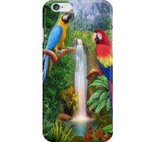 MACAW TROPICAL PARROTS iPhone Case/Skin