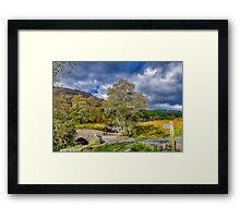 Birks Bridge Duddon Valley Framed Print