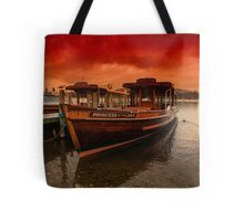 lake Windermere Boat Tote Bag
