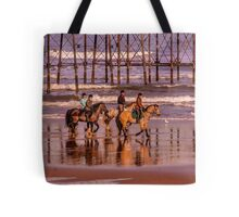 Morning Ride Saltburn Tote Bag