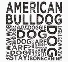 American Bulldog by Wordy Type
