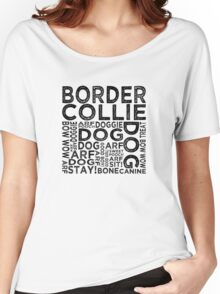 Border Collie Women's Relaxed Fit T-Shirt
