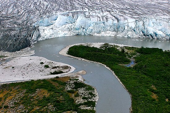 Glacial Rivers by Nancy Richard