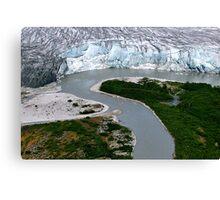 Glacial Rivers Canvas Print