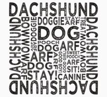 Dachshund by Wordy Type