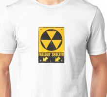 Fallout Shelter Sign  Unisex T-Shirt
