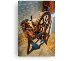 Spinning Wheel Canvas Print