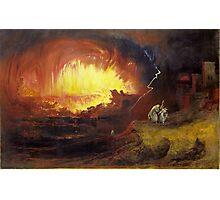 The Destruction of Sodom and Gomorrah, 1852,  John Martin (English,  Photographic Print