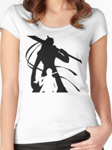 Persona 4 Yu & Izanagi - Light Version Women's Fitted Scoop T-Shirt